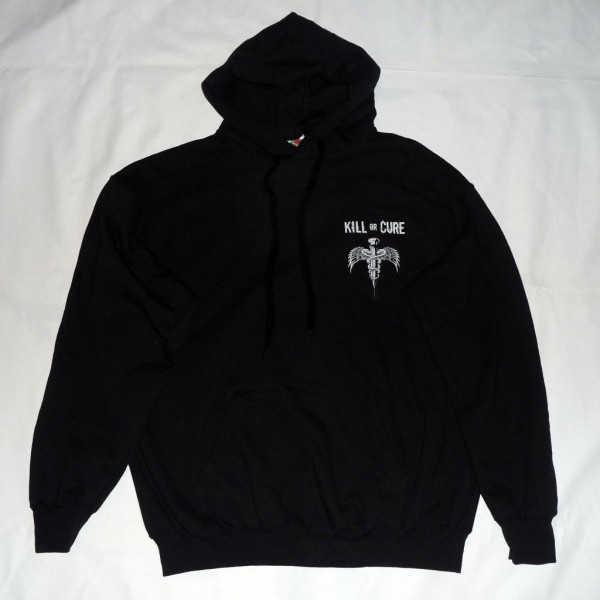 Kill or cure sweat hoodie front